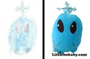 Lbb BlueMonster PlushToy