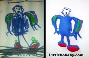 Lbb Bluerobot Drawing