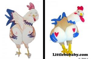 Lbb ChickenHeart PlushToy
